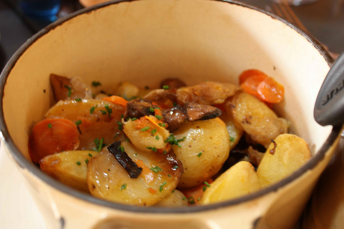 Pommes de terre sautées © Gourmets&Co