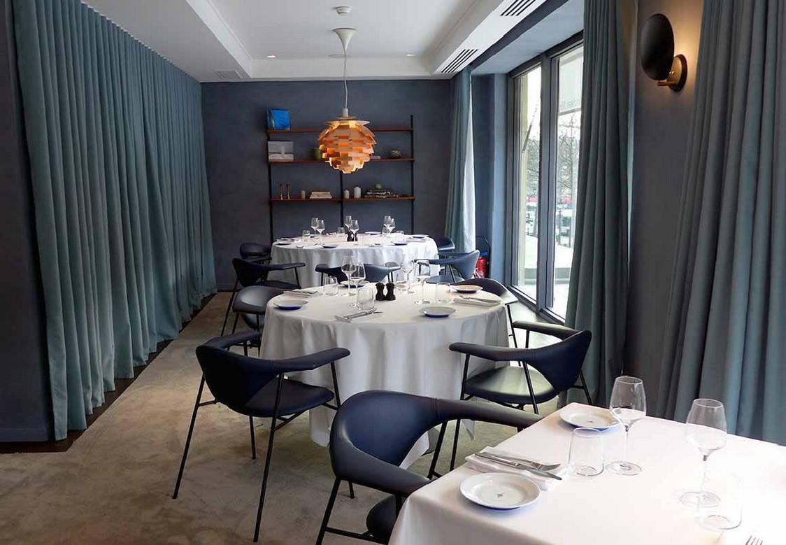 Salle à manger côté Champs Elysées