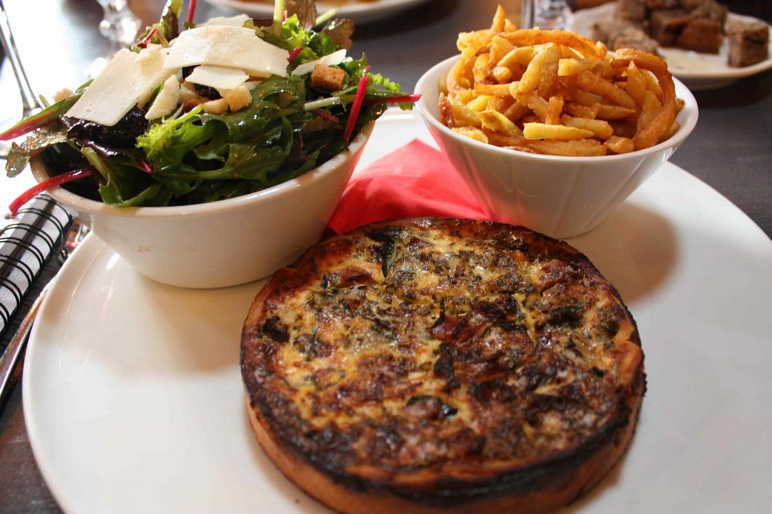 Tarte aux courgettes © Gourmets&Co