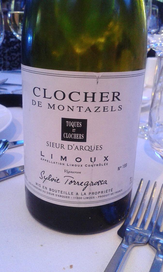 Une des excellentes bouteilles du dîner de gala © Gourmets&Co
