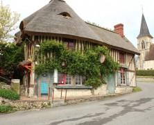 L'Auberge des Deux Tonneaux à Pierrefitte-en-Auge (Calvados)