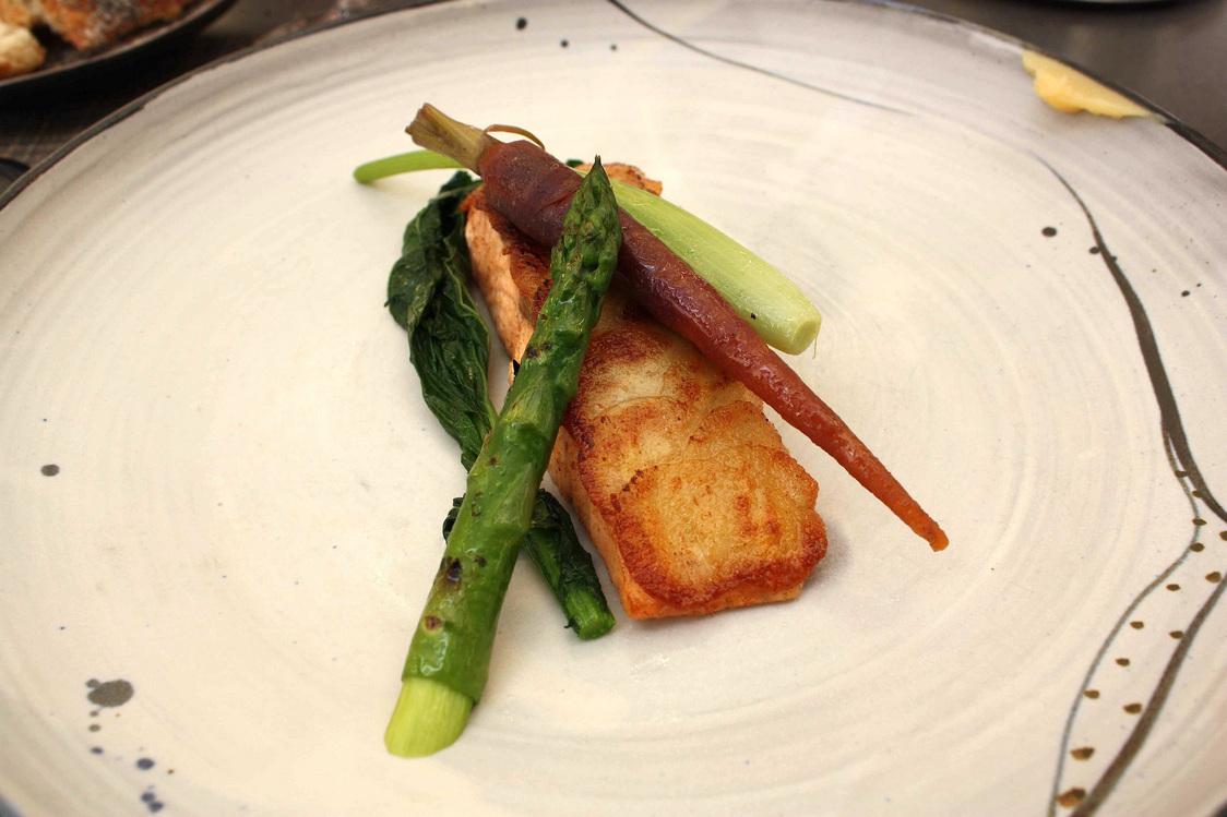 Saumon en croûte de pommes de terre © Gourmets&Co