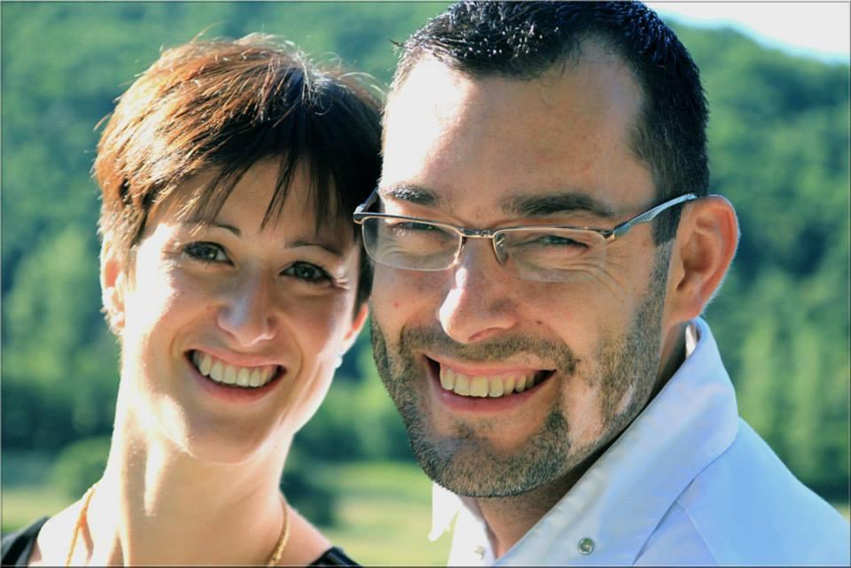 Pascal Bardet et son épouse Sandrine jpg