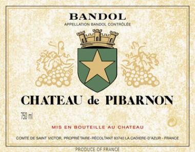 chateau-pibarnon-bandol-2009-etiquette