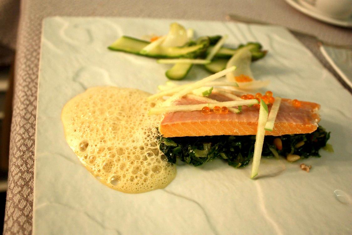 Truite, blettes © Gourmets&Co