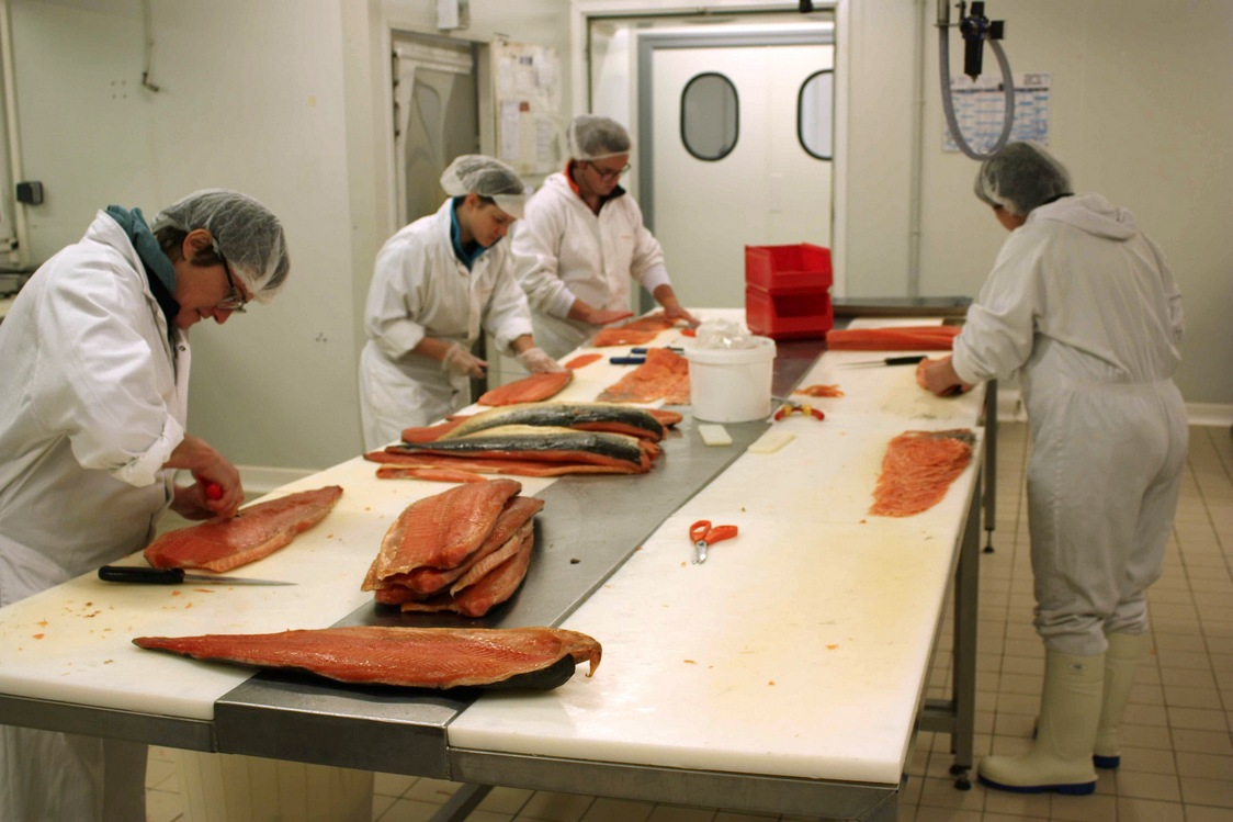 Atelier de découpe © Gourmets&Co
