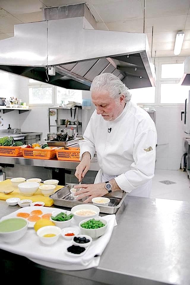 Le chef Alain Dutournier