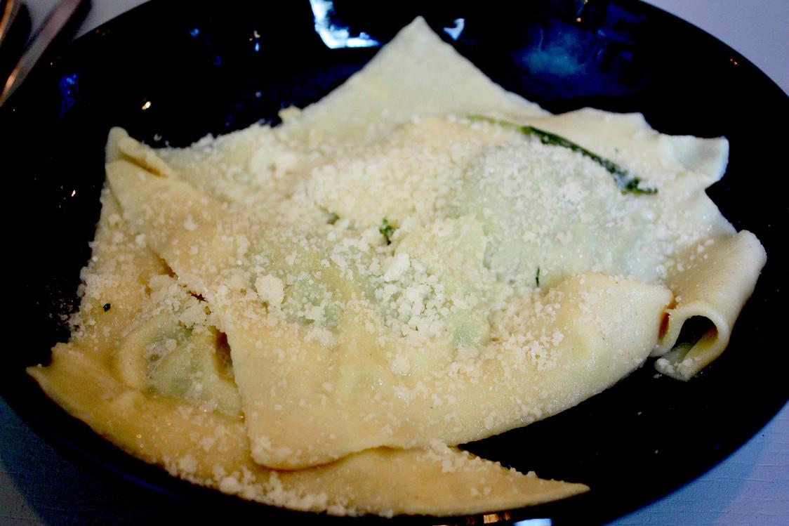 Ravioli ricotta & spinacci © Gourmets&Co