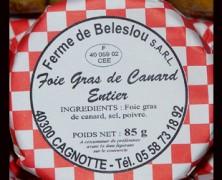 Ferme de Beleslou – Foie gras – Confits – Porc Noir Gascon
