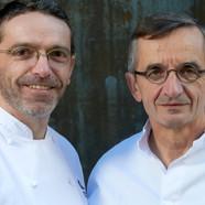 Michel et Sébastien Bras épiciers