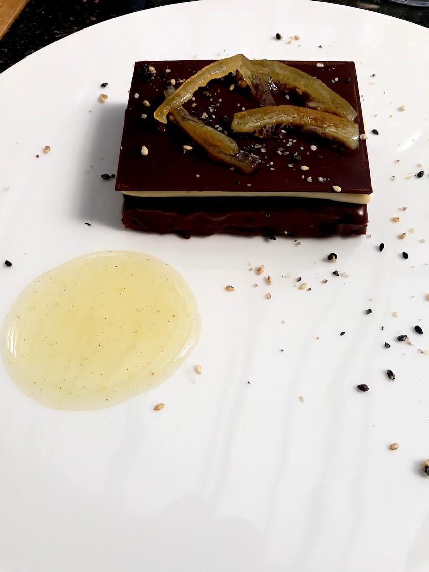 Fondant chocolat citron © Gourmets&Co
