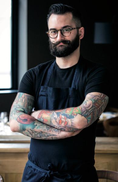 François-Xavier ferrol, le chef