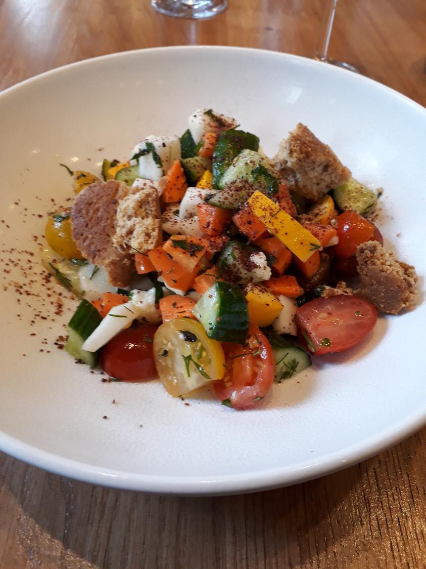 Salade de Fattoush © Gourmets&Co