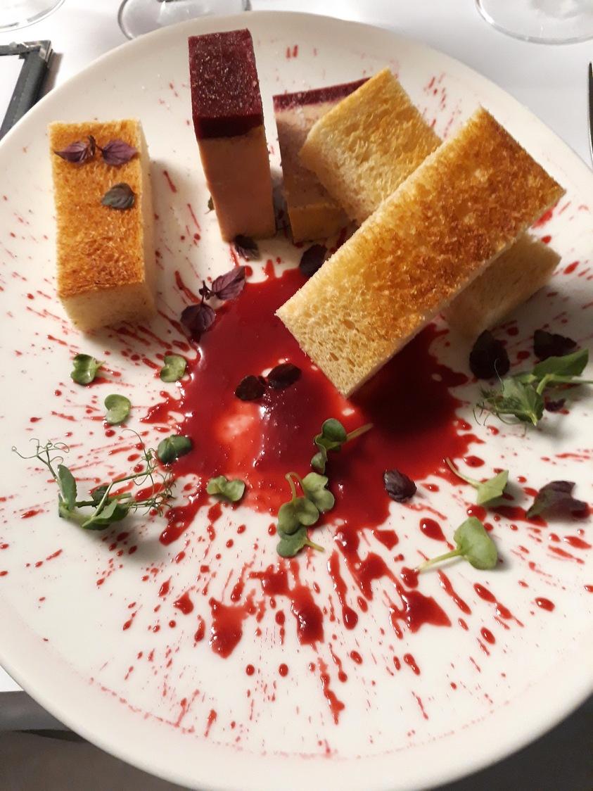 terrine de foie gras, brioche © Gourmets&Co