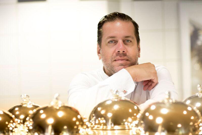 Chef Arnaud Lallement