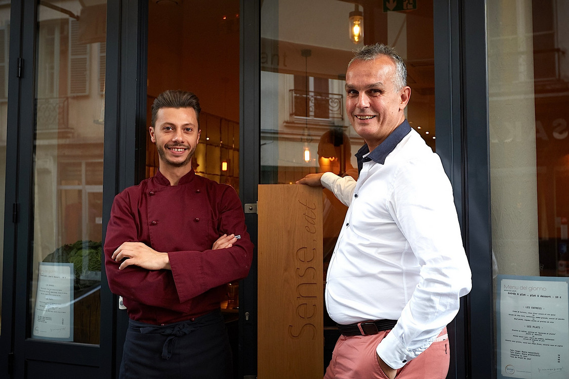 Maurizio le chef & Enrico_le patron Restaurant_SenseEat ©David_Grimbert (34)