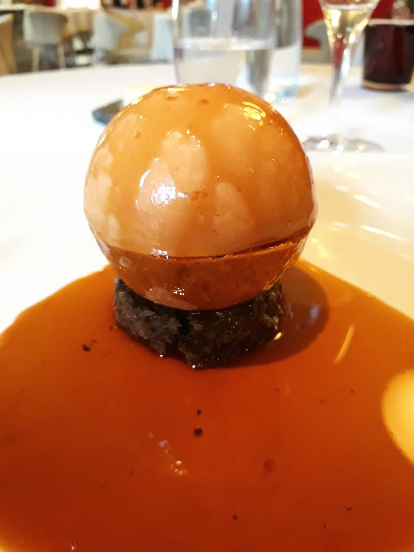 Oeuf parfait _ foie gras © Gourmets&Co