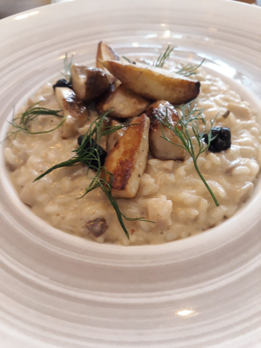 Risotto, cèpes © Gourmets&Co