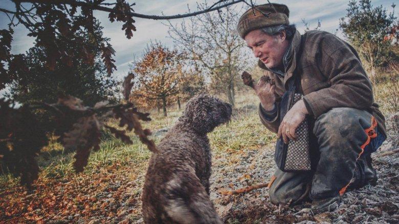 Serge Désazars et chien