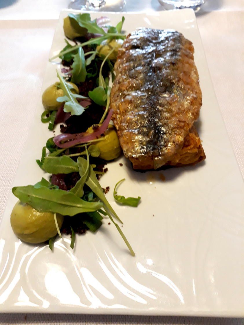 Tarte aux oignons, sardine © Gourmets&co