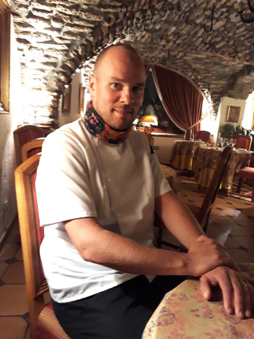 Yves Rasque, le chef © Gourmets&Co