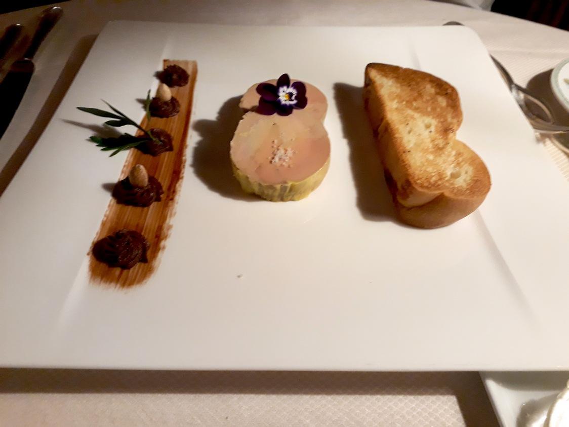 Foie gras, brioche © Gourmets&co