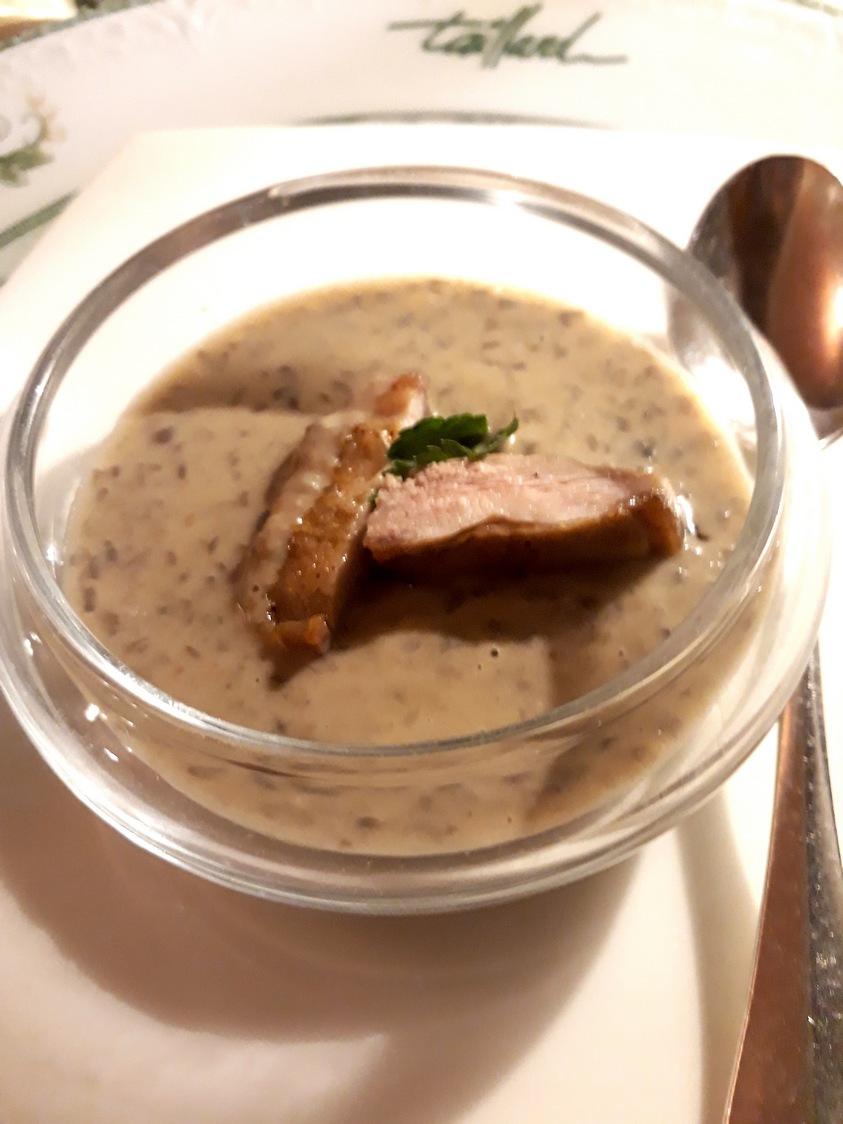 Lentilles, filets de caille © Gourmets&co