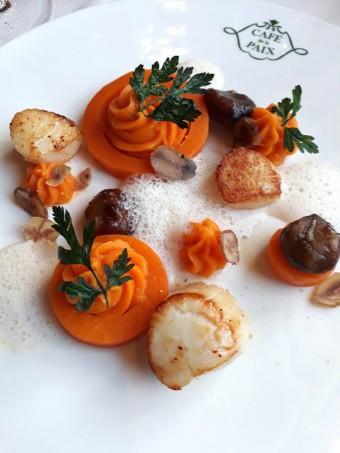 Saint-Jacques, potiron © Gourmets&co