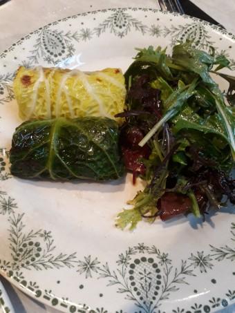 Chou farci, bœuf, anchois © Gourmets&co