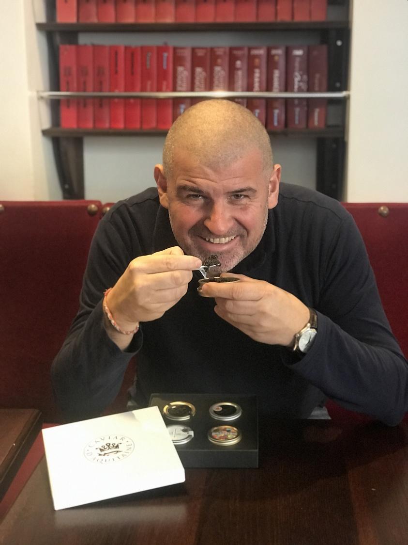 Etchebest et le caviar d'Aquitaine