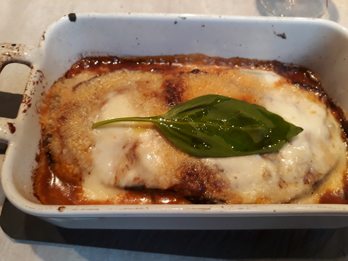 Parmigiana, aubergines, tomates © Gourmets&co