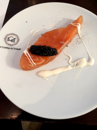Saumon fumé, caviar © Gourmets&co