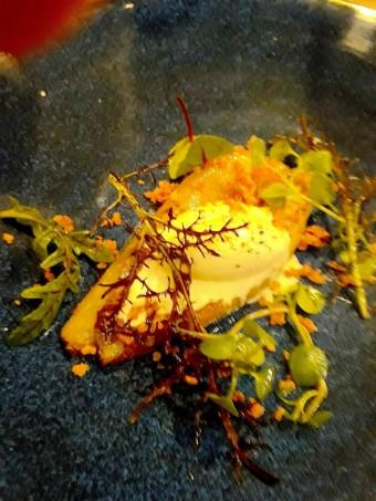 Endives braisée, miel, orange, crème à la Fourme d'Ambert, © Gourmets&Co