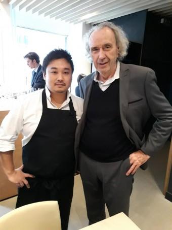 Le chef Yoshiaki Ito… à gauche. © Gourmets&co