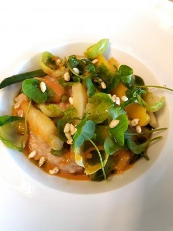 Risotto légumier crémeux au parmesan… © Gourmets&co