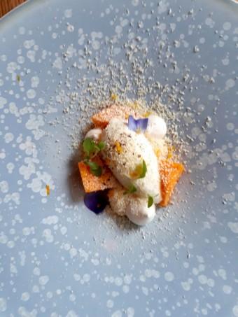 Sorbet au fromage blanc, mangue fraiche…© Gourmets&co (1)