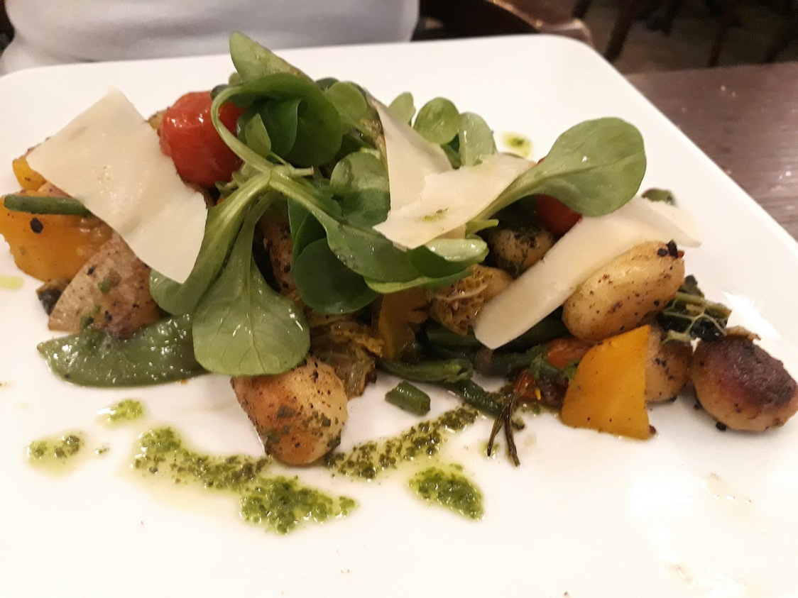 Gnocchis, aubergines © Gourmets&Co