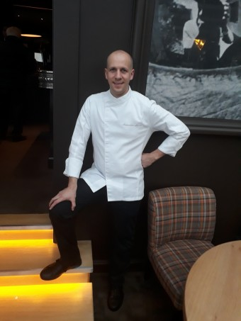 Le chef Alexandre Léard © Gourmets&co