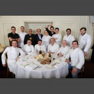 Les Chefs posent pour le Cheese Day