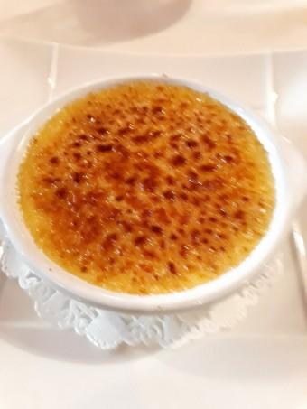 Crème brulée au lait d'amande © Gourmets&co