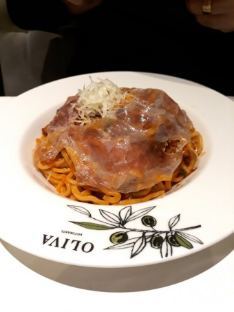 Spaghetti all'amatriciana © Gourmets&co