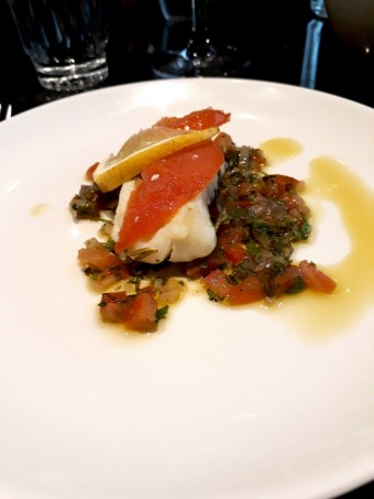 Cabillaud, sauce vierge © Gourmets&co