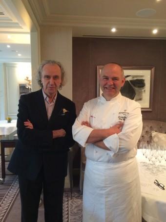 Chef Christophe Moret et …