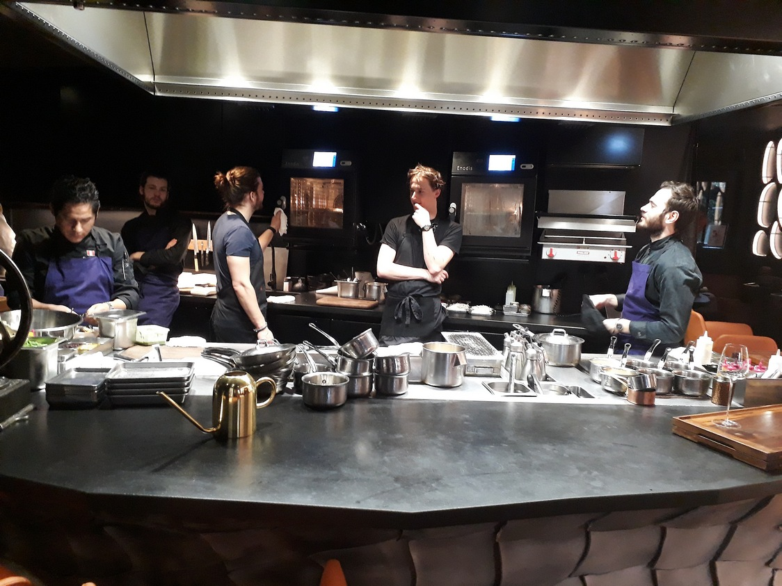 L'équipe des cuisiens © Gourmets&co