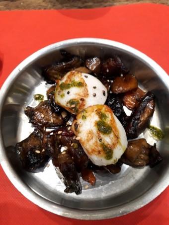 Saint-Jacques, champignons © Gourmets&co