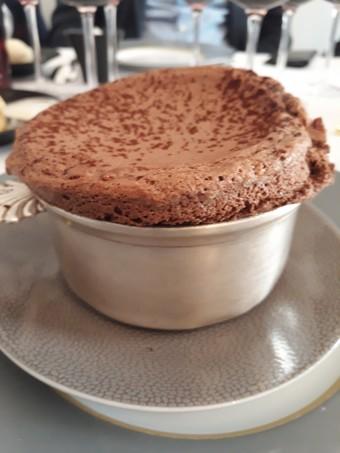 Soufflé au chocolat © Gourmets&co