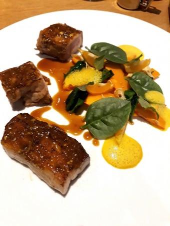 Viande blanche, courge épicée © Gourmets&co