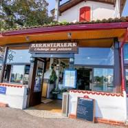 Arrentzaleak – L'Auberge aux poissons à Ciboure (64)