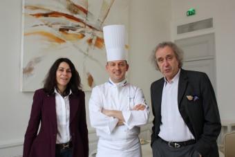 Avec Corinne Vilder et chef Adamski à Bordeaux