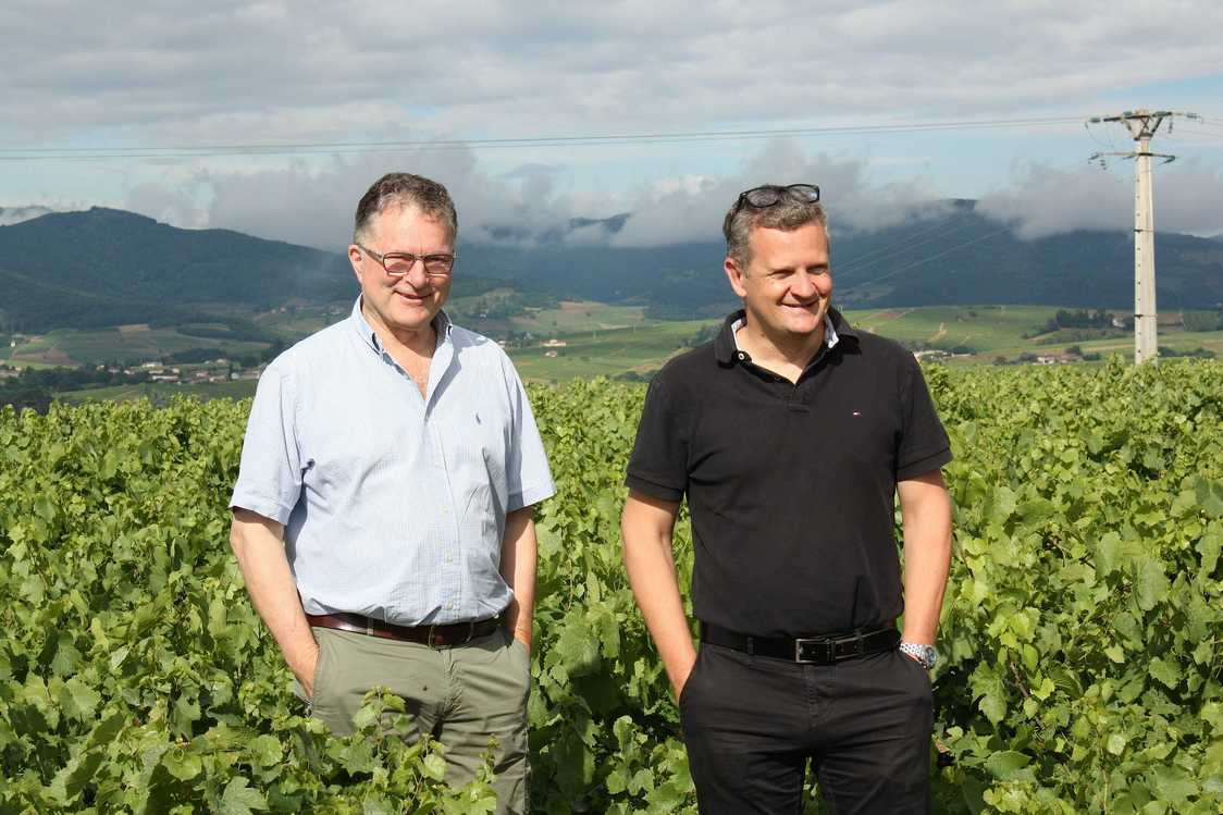 Dominique Piron et Julien Révillon. © Gourmets&Co PG - copie